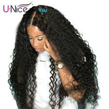 dels about deep curly lace front human hair wigs for black women pre plucked 13x4 curl wig