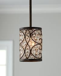 innovative crystal pendant lighting for kitchen to home with regard to crystal mini pendant light