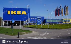 Swedish furniture store Ikea in Delft the Netherlands Stock