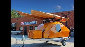 Chesapeake Light Craft Facebook Build Your Own Wooden Teardrop Camper Kit Brings Boat