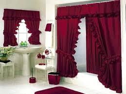 bathroom curtain set adorable bathroom shower curtains for perfect bathroom design luxury bold red bathroom shower