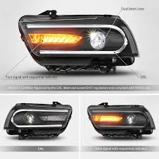 Fog Lights Oreillys Mostplus Led Drl Headlights W Sequential Light For 2011 2012