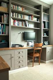 office wall shelving home office shelving bespoke home office and shelves on two walls view 1 office wall shelving
