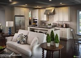 Kitchen Living Beautiful Open Kitchen And Living Room Area Love The Feel Of The