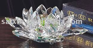 crystal flower candle holder for wedding gift and wedding souvenirs