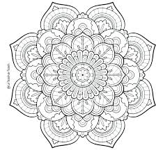 Mandala Coloring Pages Printable Free La Coloring Pages Printable