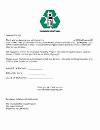 charitable contribution receipt letter 501c3 donation receipt template inspirational non profit donation