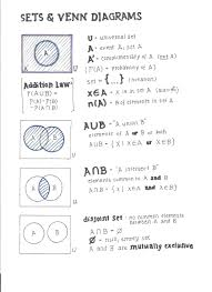 Venn Diagram And Set Notation Set And Venn Diagram Math Math S Probability Worksheets Best