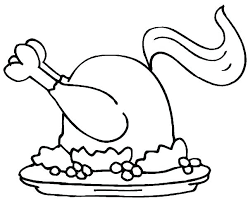 Spicy Fried Chicken Coloring Pages Download Print Online Sheet