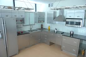 Stainless Steel Kitchen Furniture Stainless Kitchen Cabinet