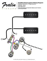 lindy fralin wiring diagrams guitar and bass wiring diagrams soapbar p90s strat