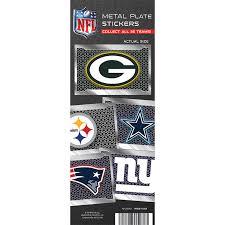 Vending Machine License Beauteous Buy NFL License Plate Team Vending Stickers Vending Machine