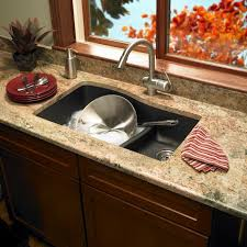 wonderful composite granite sinks kitchen offers with dish and faucet and marble kitchen counter
