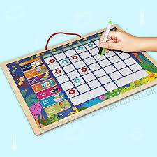 10 Year Old Behavior Chart Tesoky Gifts For 3 10 Year Old Girls Magnetic Calendar