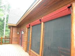 outdoor solar shades for screened porch exterior bamboo privacy screen blinds rustic verandah by lighting fascinating