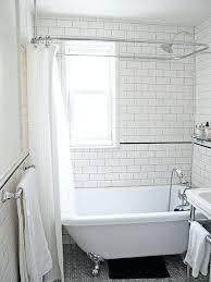 showers clawfoot shower enclosure enclosures for tubs fiberglass stalls beautiful wonderful metal impressive tub round