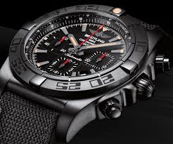 Sturdy Replica Chronomat Swiss 44 Watches Made Sale Blacksteel Breitling