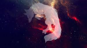 Anime White Fox Wallpaper