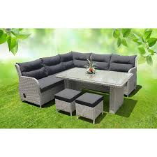 Outdoor Lounge Tulum 7 Seat Outdoor Lounge Setting Bare Outdoors