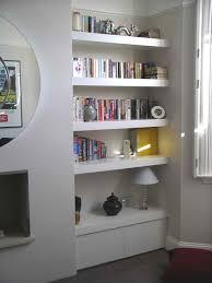 Custom Floating Shelves Uk Chubby floating shelf alcove cupboard by Peter Henderson Furniture 1