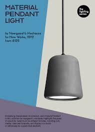 lighting series material pendant light