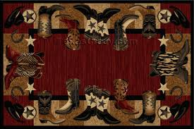 complete cowboy area rugs southwest 4 x 5 heritage southwestern rug lone star western decor