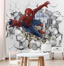 spiderman 3d wall decals 3d