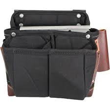 occidental leather 9503 large clip on tool fastener accessory pouch for