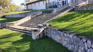 dry stacking is another beautiful way of building a retaining wall in your garden or yard a dry stacked stone retaining wall is absolutely stunning for any