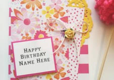 Birthday cards for sister with name and photo ~ Birthday cards for sister with name and photo ~ Download birthday cards for sisters with name gift card ideas