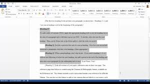 apa template for word 2013 apa template in microsoft word 2016 youtube