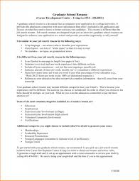 Example Resume For Graduate School Application Objective Graduate School Resume Examples Objective For Graduate School Resume 12