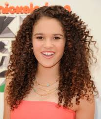Hairstyles For Medium Length Hair Pictures Madison Pettis Curly Hair