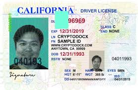 Real California And Scannable Fake Driver License Buy