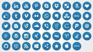 social media logos. social media icons logos