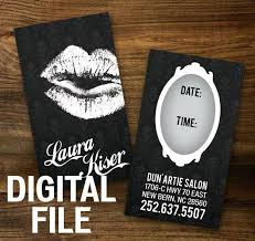 custom make up artist business cards professionally printed
