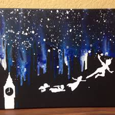 disney furniture for adults. gallery melted crayon art disney peter pan fireplace bedroom furniture for adults