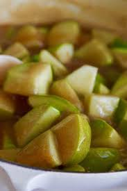 Apple Pie Filling Homemade Make Ahead Delicious Table