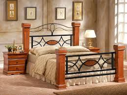 Omega Wooden Bed Frame | Supreme design | 4 post bed