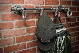 Coat Rack Industrial Impressive Industrial Coat Rack Hat Hook Towel Pipe Diy Dobai