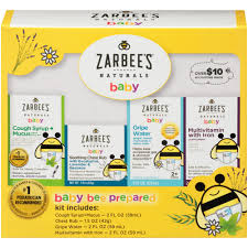 Zarbee's - Zarbee's <b>Naturals Baby Bee Prepared</b> Kit, Cough Syrup + ...