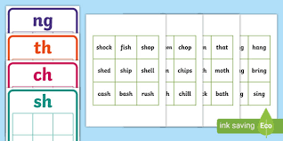 These packets include worksheets, activities and games! Sh Ch Th And Ng Word Sorting Cards Activity Teacher Made