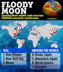 Nasa warns 'wobbling' moon will ...