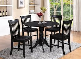 Our team believes everyone deserves a dining room table they love, so we're happy to offer flexible financing options. Amazon Com 5 Pc Small Kitchen Table And Chairs Set Round Kitchen Table And 4 Dinette Chairs Furniture Decor