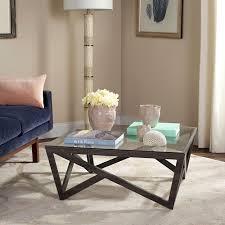Coffee Table Light Gray Safavieh