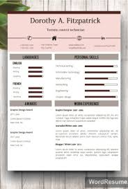 Creative Cv Template With Cover Letter And References Word Template ...