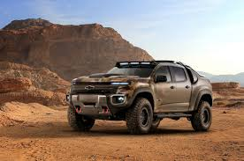 Truck chevy concept truck : Chevy's New Army Truck Is A Totally Silent Off-Road Beast - Maxim