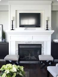 fireplaces with tv above designs inset over fireplace no hearth need more color tho tv over fireplaces with tv above designs