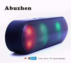 Abuzhen bluetooth hoparlör LED taşınabilir kablosuz hoparlör Mini ses  sistemi 3D Stereo müzik MP3 çalar Surround desteği TF AUX USB|bluetooth  speaker|wireless speakerportable wireless speaker - AliExpress