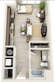 Simple Creative How To Design A Studio Apartment Layout The 25 Best Studio  Apartment Layout Ideas